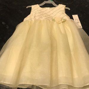Little girls Sunday dress